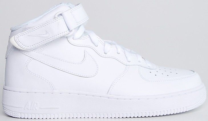 Nike air force 1 high white men's athletic shoes 315123