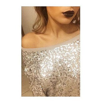 top paillettes hm