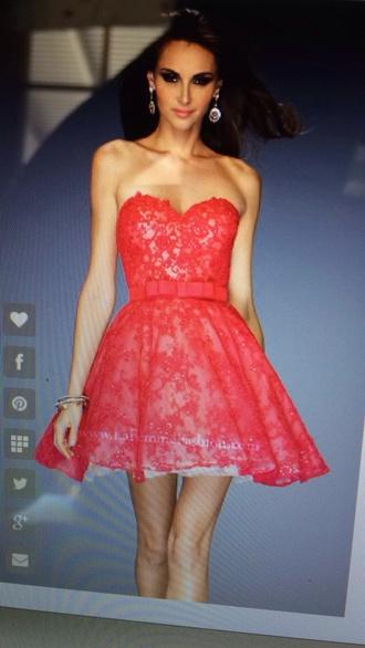 dress red dress white dress lace dress bow dress