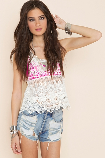 Ivory in  clothes tops at nasty gal