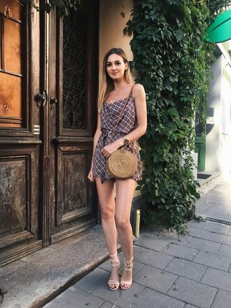 fashionagony blogger top shorts bag