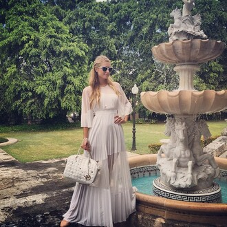 dress maxi dress summer dress summer outfits paris hilton instagram