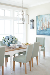 home accessory,tumblr,home decor,furniture,home furniture,dining room,chair,table,light blue,baby blue,flowers,frame