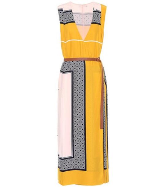 Tory Burch Clarice silk wrap dress