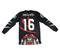 Aztec goalkeeper's jersey mach 2 ( black )
