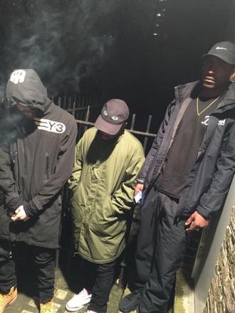 coat nike supreme tumblr west kanye instagram bape blvck scvle black jacket dope
