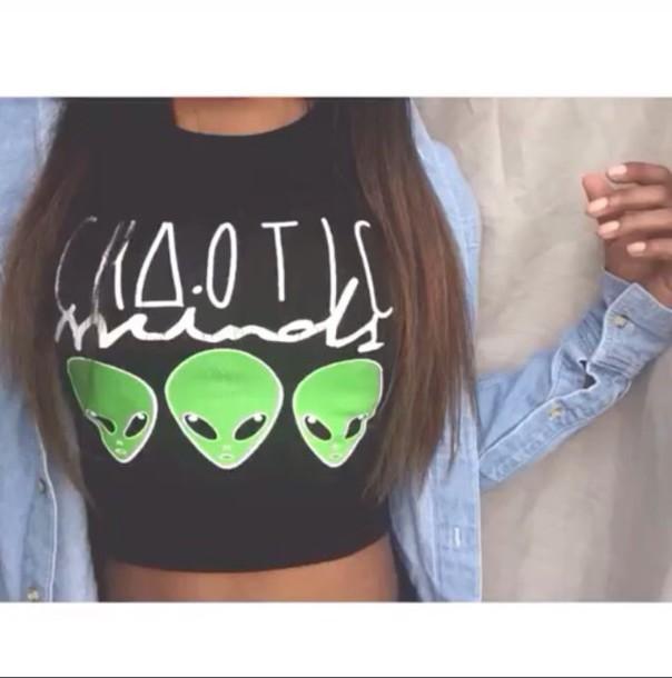 shirt alien