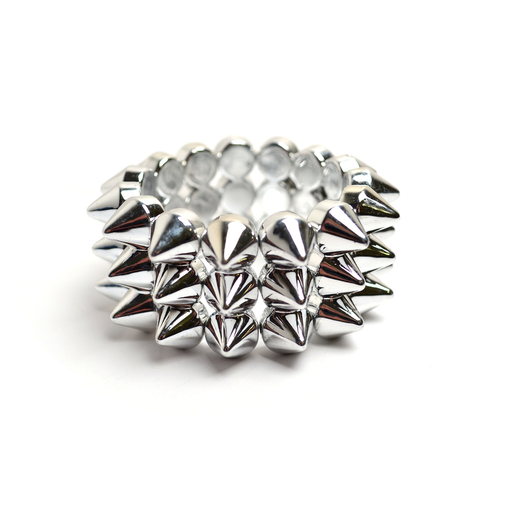 All spiked up bracelet