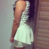 dress,peplum dress