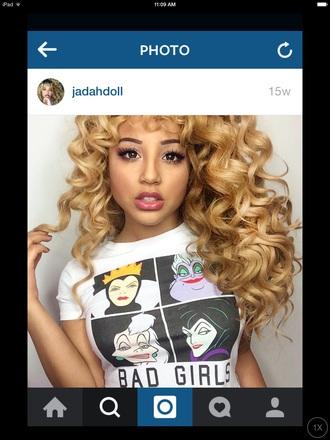 shirt jadah doll jadah doll hair jadah doll makeup