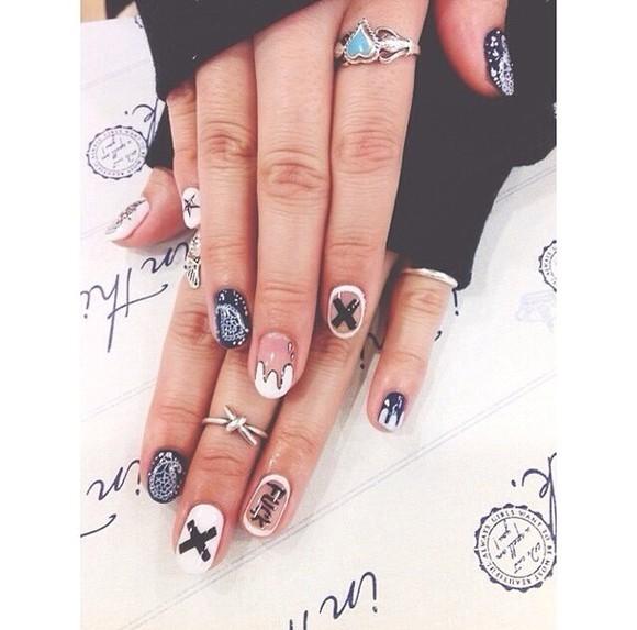 nail polish nail accessories nail decal rings jewelry