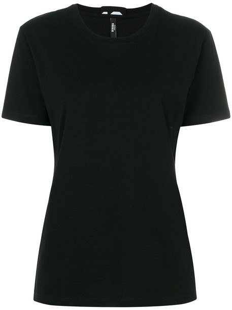 Versus t-shirt shirt t-shirt women spandex cotton black top