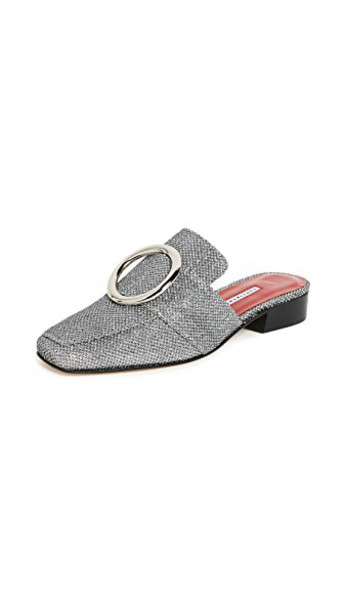 petrol silver shoes