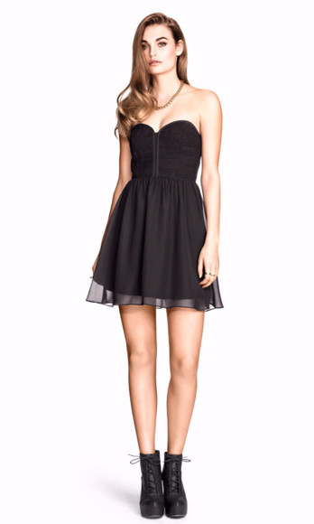 bandeau bandeu top sweetheart dresses
