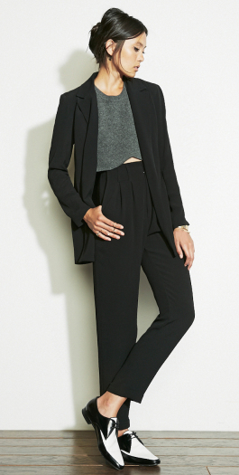 The Reformation :: CLOTHES :: BOTTOMS :: NOIR TROUSER