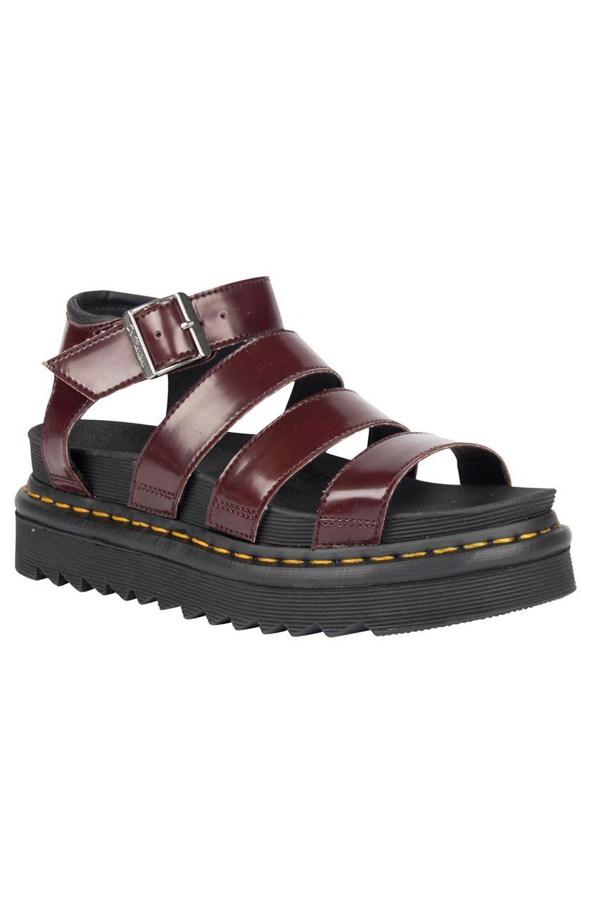 Vegan Blaire Sandals - Cherry