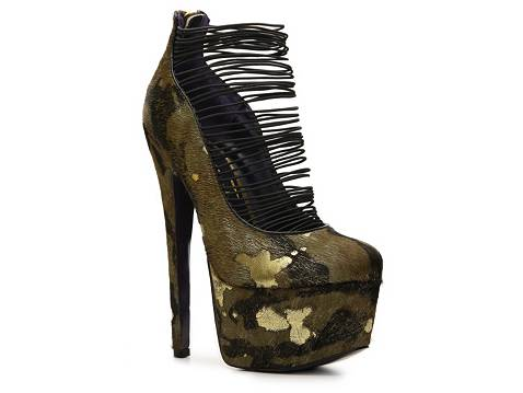 London Trash Ceres Camo Platform Pump | DSW