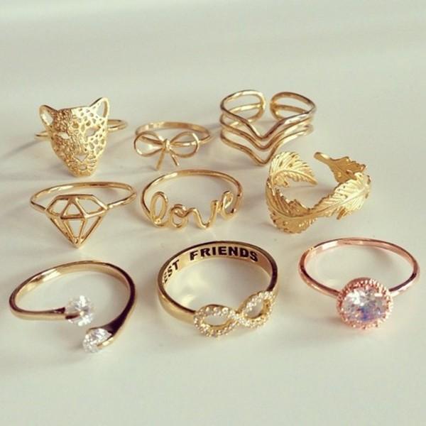 jewels gold jewelry