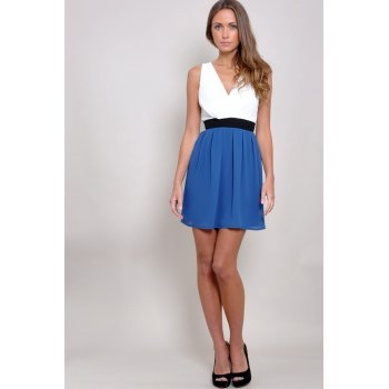 Cross Bust Block Dress