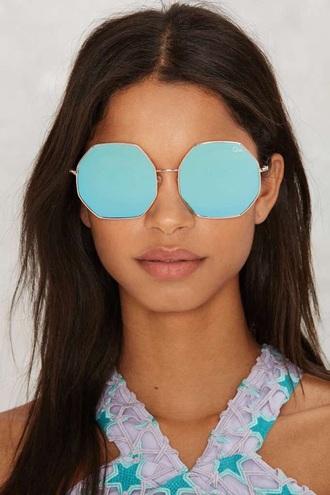 sunglasses blue trendy accessories fashion style summer beach free vibrationz