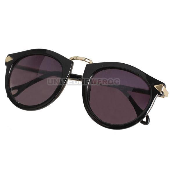 UN3F Unisex Cool Sunglasses Sun Glasses Retro Gold Plated ...