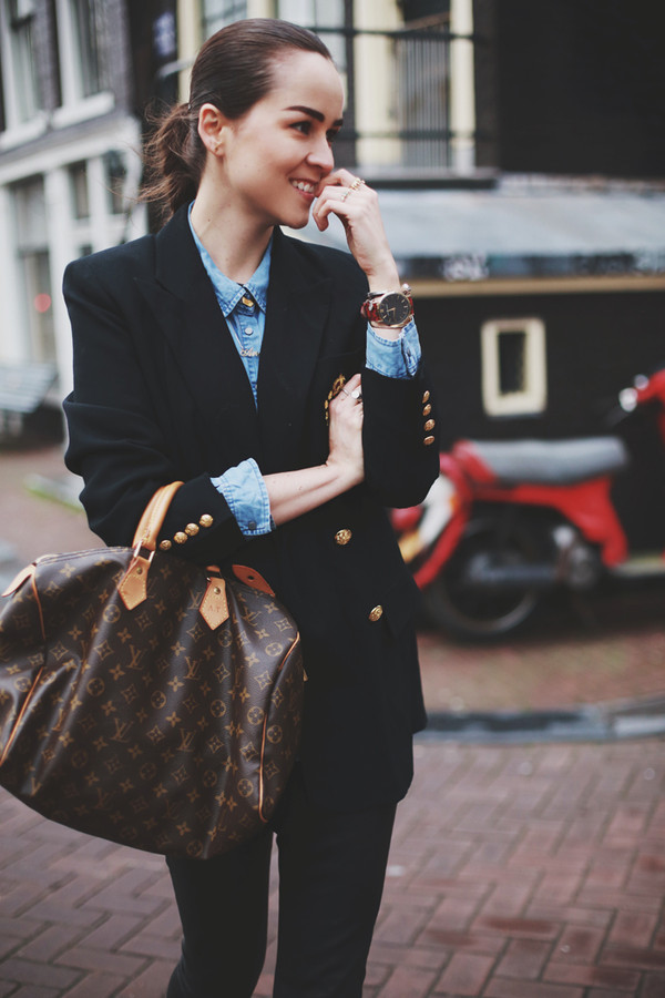 style scrapbook jacket pants shirt shoes bag jewels