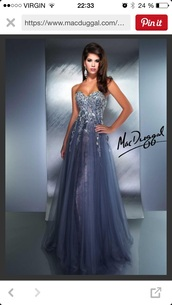 dress,prom dress,blue,purple,sparkle,flowers,mac dugaal prom dresses 2015,glitter dress