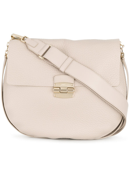 Furla women bag shoulder bag leather nude