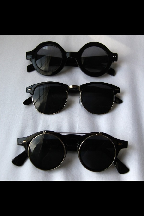 sunglasses round sunglasses retro sunglasses black sunglasses cirkle sunglasses black shades retro