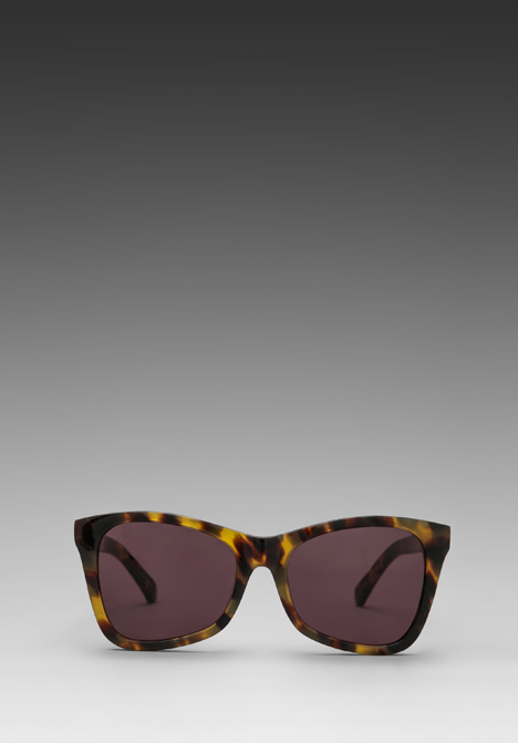 KAREN WALKER Perfect Day in Crazy Tortoise/Gold/Black at Revolve Clothing - Free Shipping!