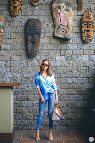 kryzuy blogger sunglasses jeans bag shoes