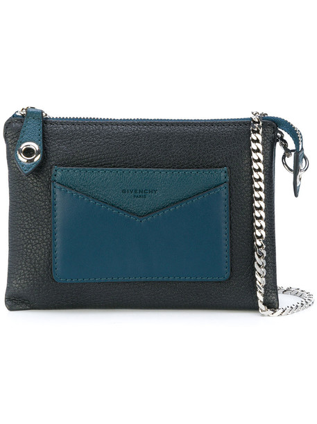 Givenchy women bag leather blue