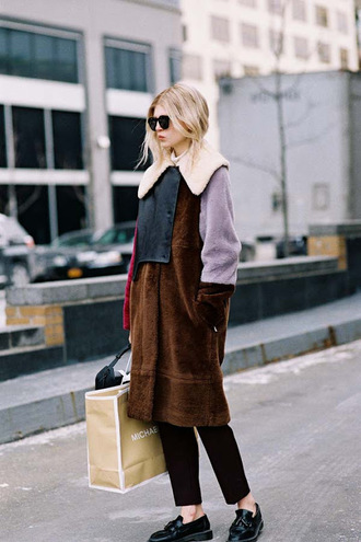 vanessa jackman blogger coat shoes