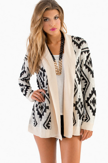 Total Tribal Cardigan - TOBI