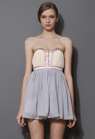 dress beaded embellished colorful block bustier