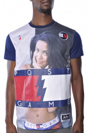 Post game aaliyah hip hop legend tee shirt usa at apparelzoo.com