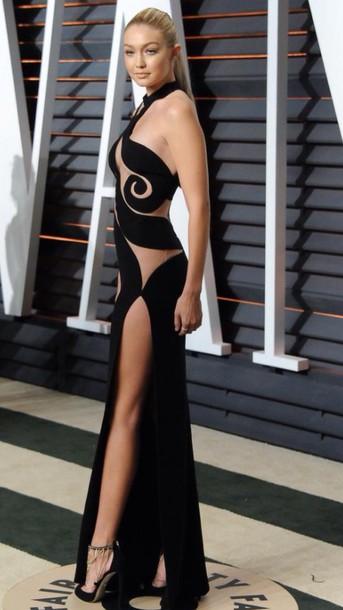 dress gigi hadid sexy dress model
