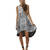 SHAKUHACHI MARBLE KICK OUT DRESS - MARBLE