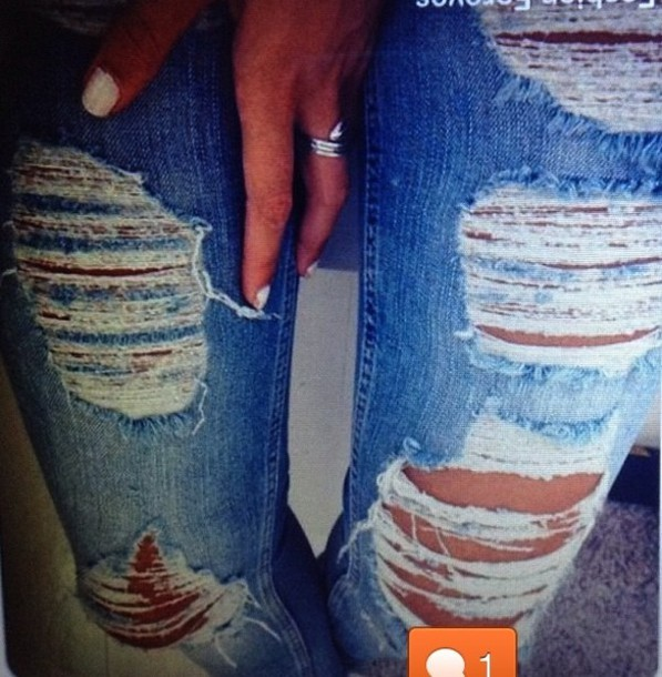 Jeans Look Hot Blog Blogger Fashion Nice Ripped