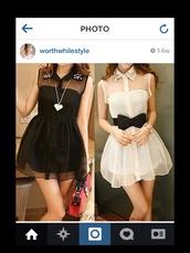 ebonylace.storenvy,ebonylace-streetfashion,ebonylace247,bow dress,dress,stud collar dress
