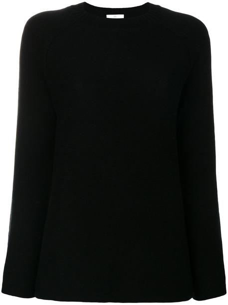 Allude jumper women black wool sweater