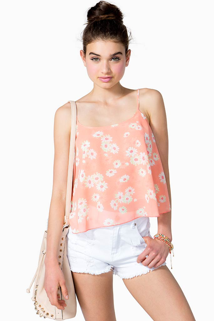 A'GACI Bright Bloom Cami - Tanks