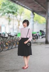 le monde de tokyobanhbao,t-shirt,skirt,bag,jewels,make-up,apc,sweater