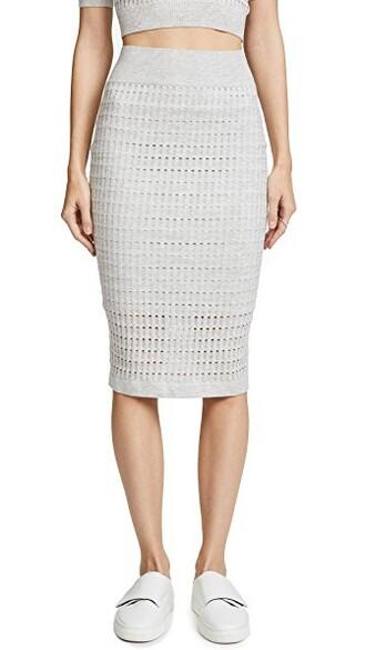 skirt lace skirt lace light grey heather grey