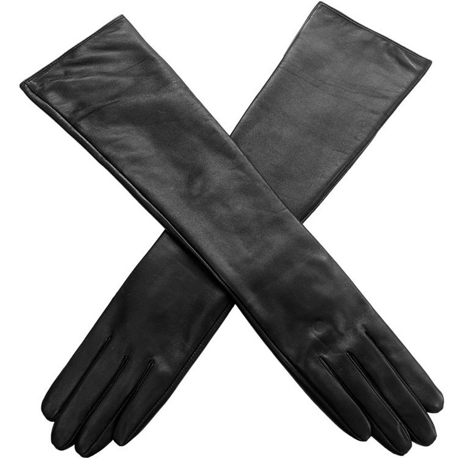Amazon.com: abody women gloves pu leather touch screen elbow length sexy long evening party gloves: clothing