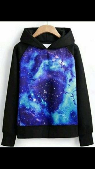 sweater girl si chica galaxya sudadera galaxy print style