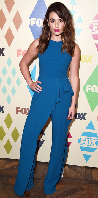 jumpsuit lea michele blue pants