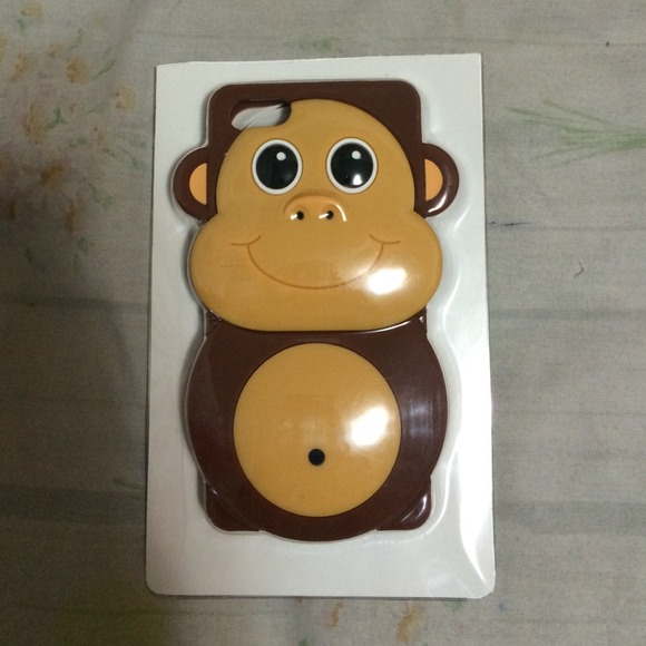 64% off Monkey Accessories - iPhone case 5/5s monkey :) from Kelly's closet on Poshmark