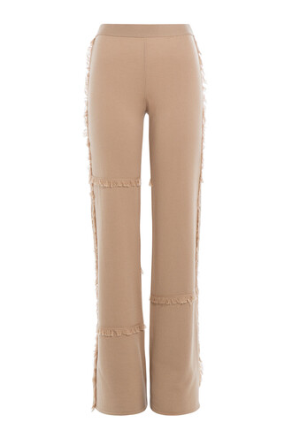 pants wool brown