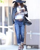 jeans,vanessa hudgens,top,belt